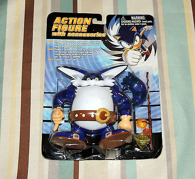 """NEW Sonic X  Big The Cat 6"""" Action Figure Toy Island Sonic The Hedgehog"""