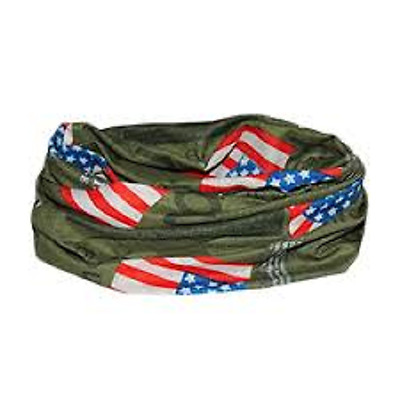 American Flag Biker Balaclava Neck Tube Snood Scarf Face Mask Bandana America
