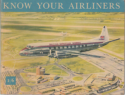 Know Your Airliners. Shell-Mex, BP Oils booklet