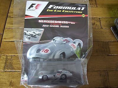 Formula 1 The Car Collection Part 21 Mercedes W196 1955 Juan Manuel Fangio