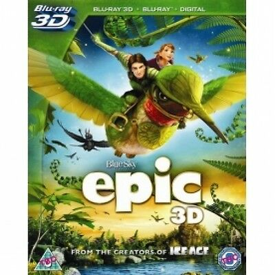 Epic 3D Blu-ray Brand New