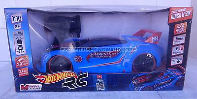 Hot Wheels RC Radio Control Quick N'Sik scale 1:10 4X4 Speed Up 30 Km/h Mattel