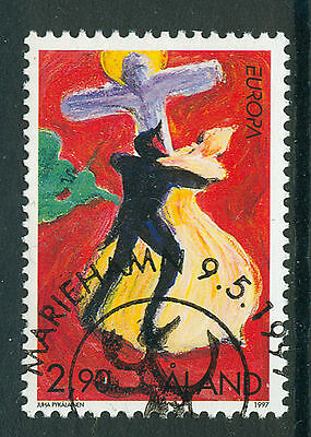 ALAND 1997 stamp Europa Stories & Legends fine used (CTO)