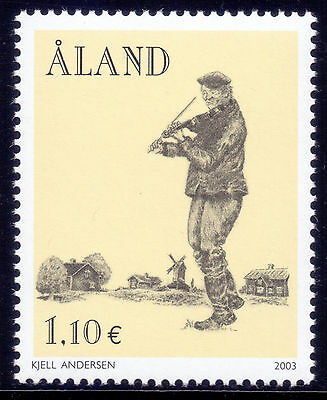 ALAND 2003 stamp Cultural Heritage Music um (NH) mint Architecture Windmill