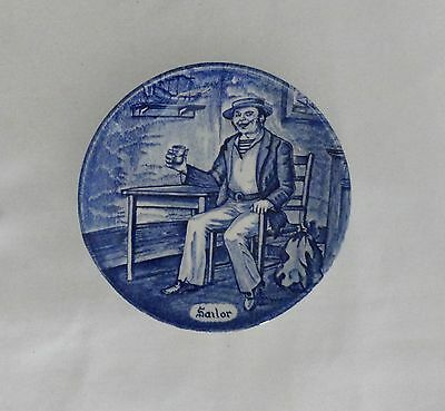 Enoch Wedgwood Professional Series Sailor Mini Collector Plate