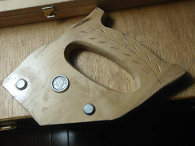 hand saw wooden handle 3 bolt disston