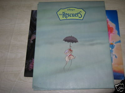 the rescuers lithograph