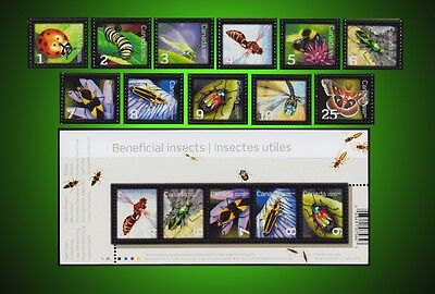 2007 - 2014 Insects Paper Wasp Bug Dragonfly Beetle  + Cover Complete Series