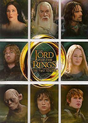 Lord Of The Rings The Two Towers: 9 Card US Binder Set #C1-9