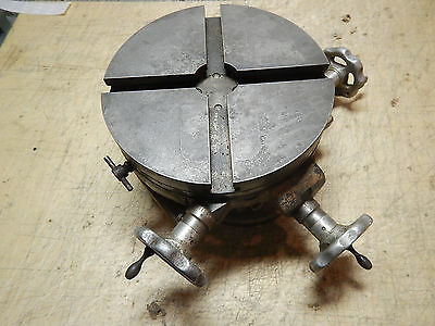 "Craftsman Palmgren 8"" Rotary Table Cross Slide  Needs A Gib Bar"