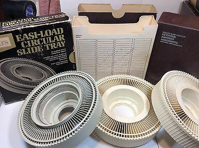 Sears KeyStone Anscorama 100-Slide Projector Tray Used Great Condition with Box