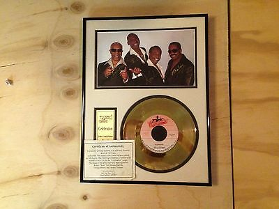 """Kool And The Gang Officially Licensed Gold Plated Record 1980, """"Celebration"""", Si"""