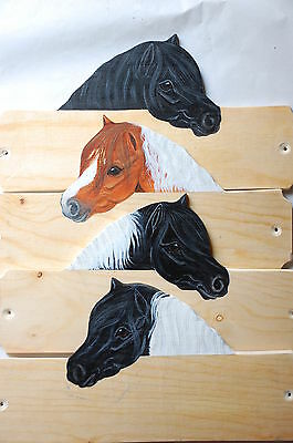 Shetland pony stable/stall/barn name plate/plaque/sign personalised gift