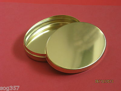 Ted Cash Brass Oval Tinder Box Muzzleloading Black Powder Great for Fire kit