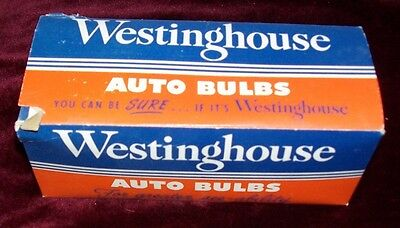 NOS Westinghouse Auto Bulbs BRS 4V PH 75A T5SCP Clear Lot of 10 NEW