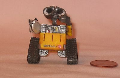 From Disney Store Mini Wall-E Robot With Eve's Hand; For Cake Topper