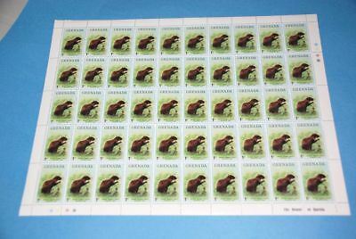 Rodent Agouti Animal MNH Sc 693 Complete Sheet of 50, Grenada qq