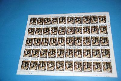 Easter ART Okolicsno MNH Sc 708 Complete Sheet of 50, Grenada qq