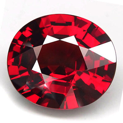 14.55ct.ATTRACTIVE! 100%NATURAL TOP RED SPESSARTITE GARNET UNHEATED AAA LARGE!