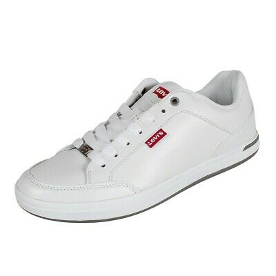 Levis 222805 Sneaker Mens Shoes Trainers Kulttreter Smart Casual White