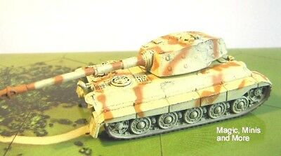 Eastern Front KING TIGER #36 Axis&Allies 1941-1945 rare miniature