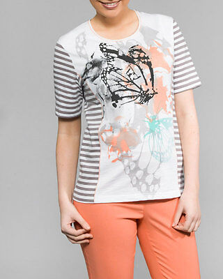 Hs Fashion Sporty Ladies- T-Shirt Cotton 4085