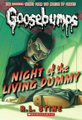 Night of the Living Dummy (Classic Goosebumps) By  R L Stine