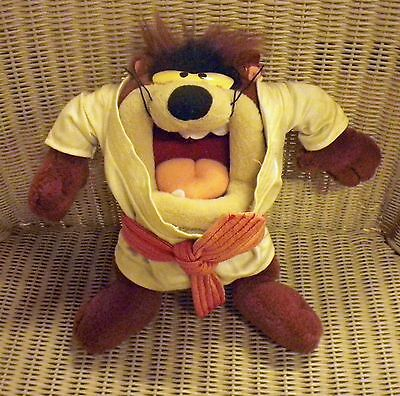 """10"""" Plush 'Karate' Taz from Warner Brothers Looney Tunes"""