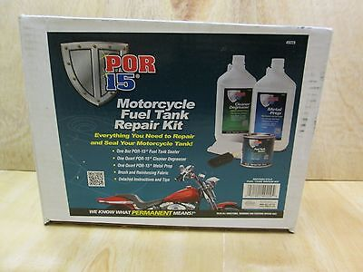 POR15 Fuel Tank Sealer Kit Petrol Rust Ethanol Protection Repair Seal POR 15