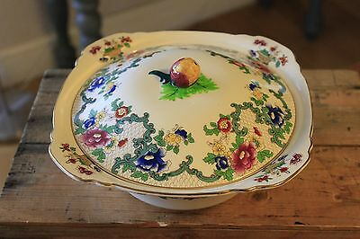 Vintage Royal Cauldon – Victoria – Lidded Tureen / Vegetable Dish – Great! –
