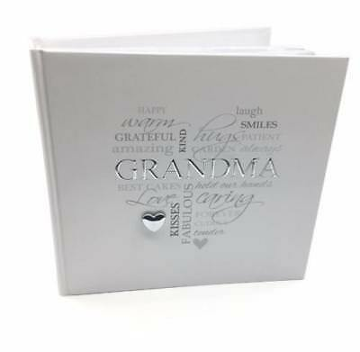 "Grandma Gift - Elegant Gran Photo Album Boxed 4x6"" FL316G"