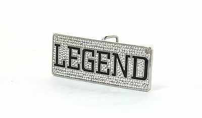 'LEGEND' Diamante Buckle + Belt. *DIFFERENT SIZES and COLOURS*