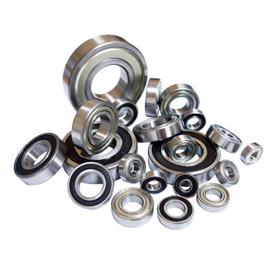Grooved Ball Bearing 6000 - 6015 2RS Zz by Choice 10-75mm Wave Roller