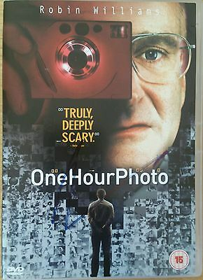 Robin Williams - One Hour Photo - Hand Signed DVD + COA