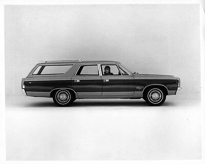 1968 AMC Rebel Station Wagon ORIGINAL Factory Photo oae3083