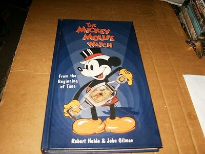 The Mickey Mouse Watch Book,From the Beginning of Time, HB Book, VG-Shape,1997.