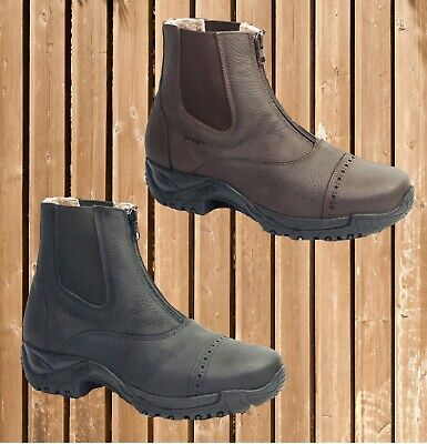 HOBO Hot Bob, Winterstiefelette echt Lammfell, Hobo Thermostiefelette warm