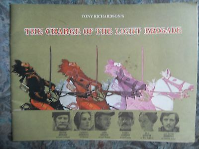 Vintage 1968 Charge Of The Light Brigade Film Brochure