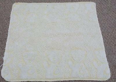 Vintage Yellow Sooty Face Flannel Cloth