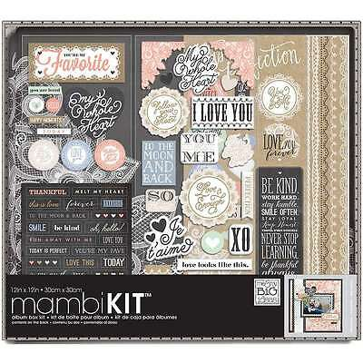 Me & My Big Ideas Boxed Album Kit 12 Inch X 12 Inch-Lacey Charm 673807988927