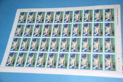 Nicaragua Mysterious Island Jules Verne, Sc 1086 MNH Complete Sheet of 40 qq