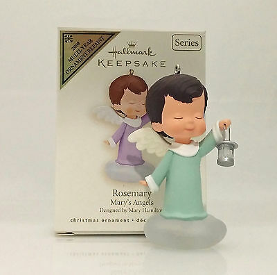 Hallmark Colorway/Repaint Ornament 2008 Rosemary - Mary's Angels - #QX7074C-NT