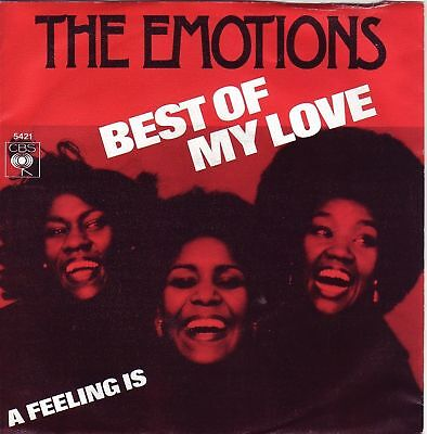 """7"" - THE EMOTIONS - Best of my love"