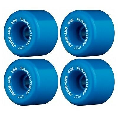 POWELL PERALTA RAT BONES Skateboard Wheels 60mm BLUE