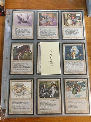 MTG Magic The Gathering Alliances Complete Set 199 Cards NM-LP Condition
