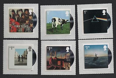 Gb 2016 Pink Floyd Stamp Set / Iconic Album Covers