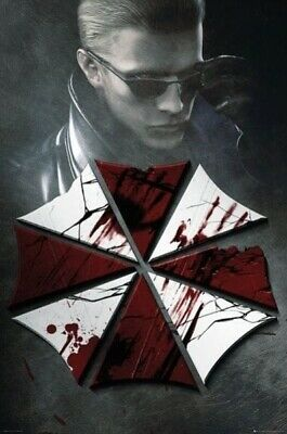 RESIDENT EVIL ~ UMBRELLA CORP 24x36 Video Game Poster NEW/ROLLED!