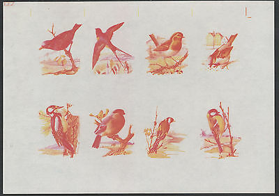 Calf of Man (1467) - 1973 BIRDS IMPERF PROOF m/sheet unmounted mint