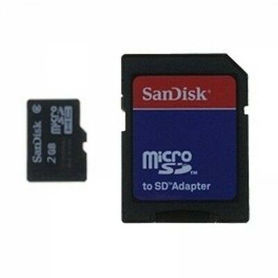 2GB SanDisk Micro inkl. SD Adapter (022)