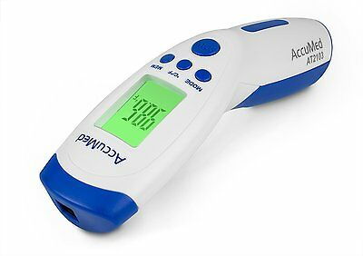 AccuMed AT2103 Non-Contact Instant-Read Handheld Infrared Medical Thermometer
